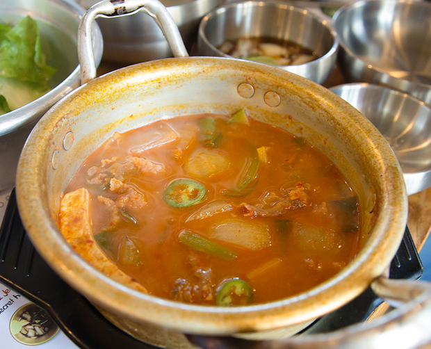 photo of soybean stew