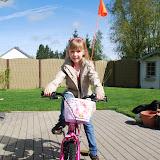 Blij met mijn nieuwe fiets!