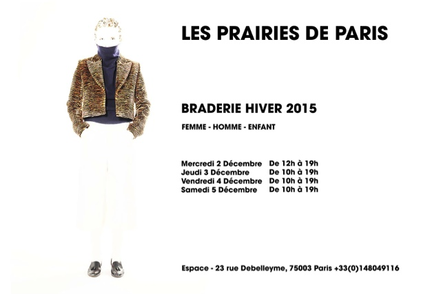 braderie les prairies de paris Season sale