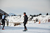 Sébastien Chaigneau coatchs les coureurs  ©Office de Tourisme du Val d'Arly