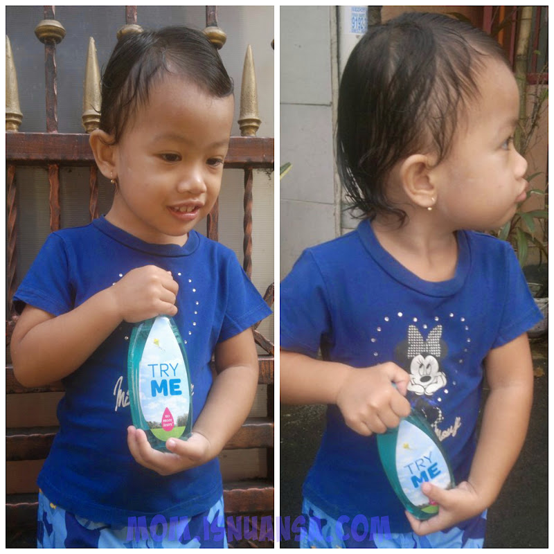 Johnsons Baby Shampoo Active Fresh Biru :)