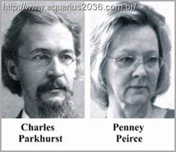 A reencarnação de Charles Parkhurst como Penney Peirce