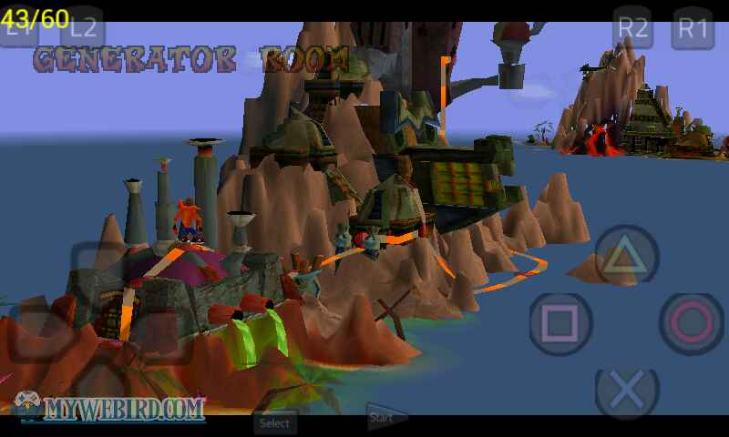 crash bandicoot psx maps