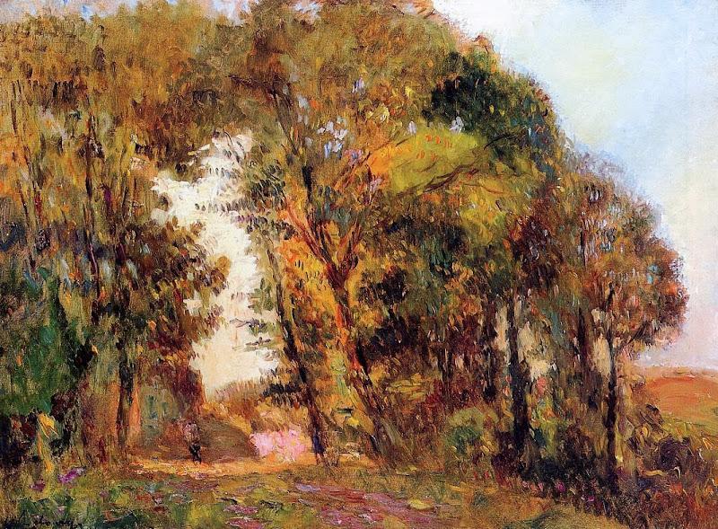 Albert Lebourg - The Forest in Autumn near Rouen