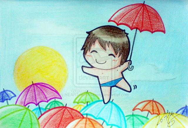 [Animation Pics] Owl City Chibi cực cute! UmbrellaBeach