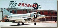 Douglas XA4D-1 Skyhawk 1957