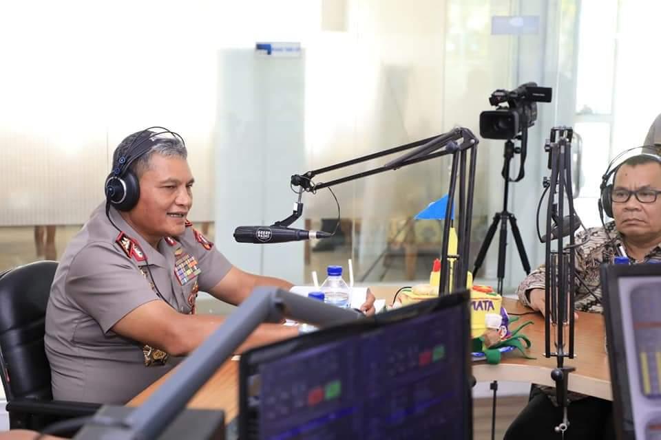 "Mengudara Lewat Radio RRI, Kapolda Sumut : ""Kejahatan Di Sumatera Utara Sudah Berkurang"""