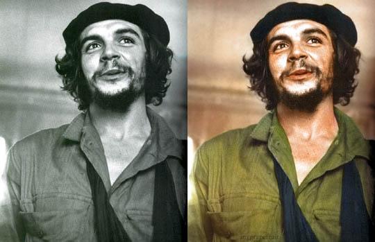 Че Гевара - Най-известните исторически черно-бели фотографии в цвят