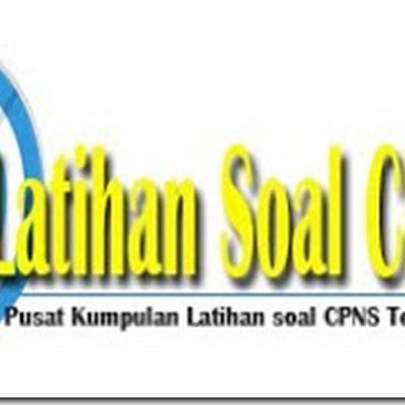 Soal Cpns Tes Intelegensi Umum Tiu Latihan Soal Cpns