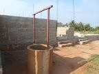 Il pozzo che assicurerà l'acqua al centro ....