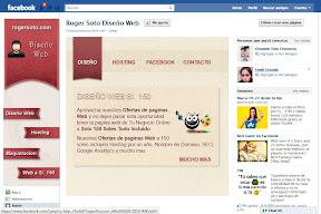 "Fan Page Diseño Web Roger Soto"""