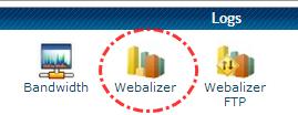 Tombol Webalizer