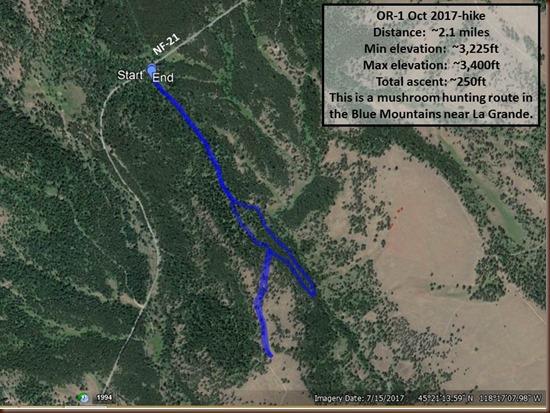 La Grande-1 Oct 2017-hike