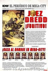 Actualización 27/07/2016: Juez Dredd IDW - Se agregan el numero 25, gracias a los AT-Jueces - Mastergel & Antonimo.