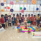 Dussehra Celebration of Playgroup Evening Section at Witty World, Chikoowadi (2017-18)