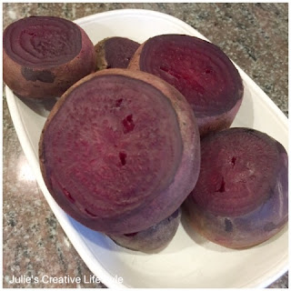easy recipe to make roasted beets at Julie's Creative Lifestyle
