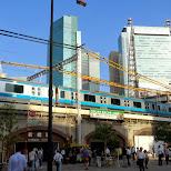 shimbashi station in Shinagawa, Tokyo, Japan