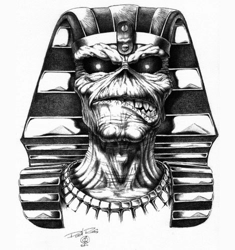 Eddie The Head Iron Maiden The Beast