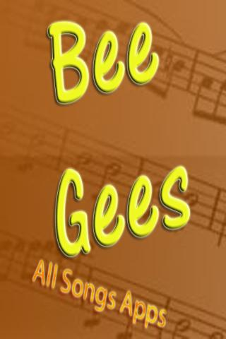 All Songs of Bee Gees