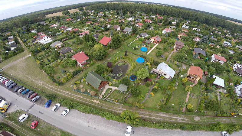 wynajem drona zdjęcia z lotu ptaka z drona jezioro z lotu ptaka
