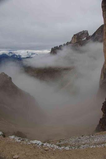 Yen avaient qui voyaient de drôles de choses dans ce brouillard.