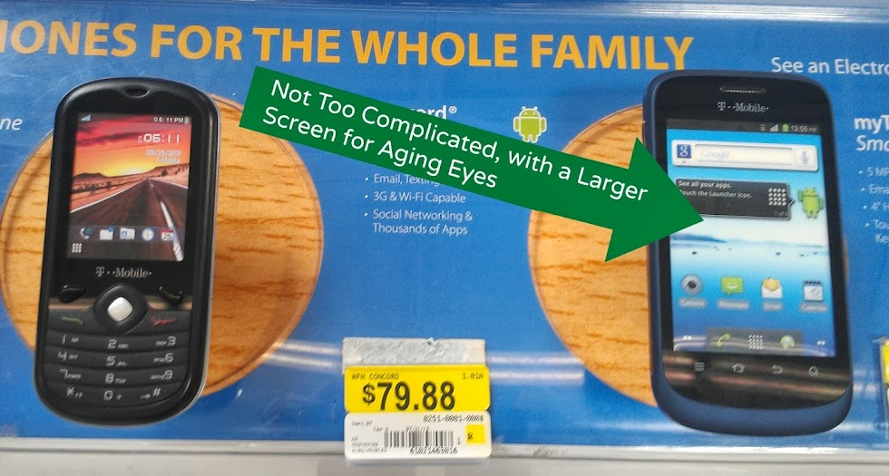Choosing a Concord Phone for our new Walmart Family Mobile Line #shop #cbias #FamilyMobileSaves