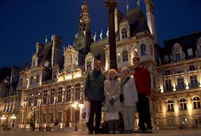 At the Hôtel de Ville