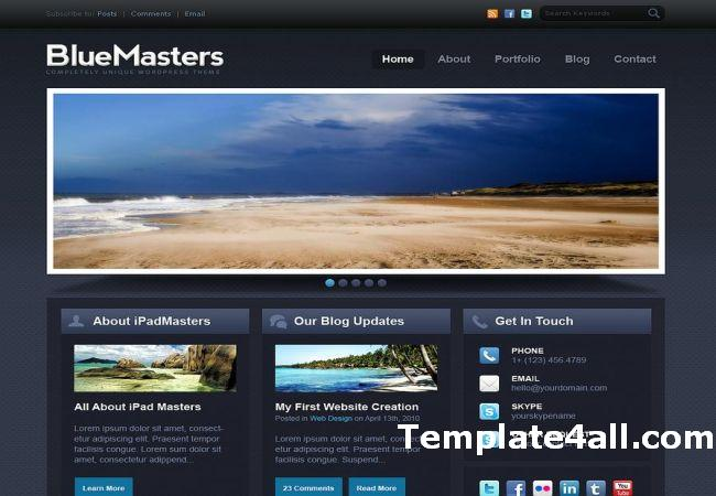 Free Drupal Themes Responsive Free Website Templates Freethemes4all