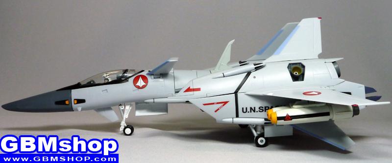 Macross VF-X VF-4G Lightning III Commander Type Full-Armed Fighter Mode
