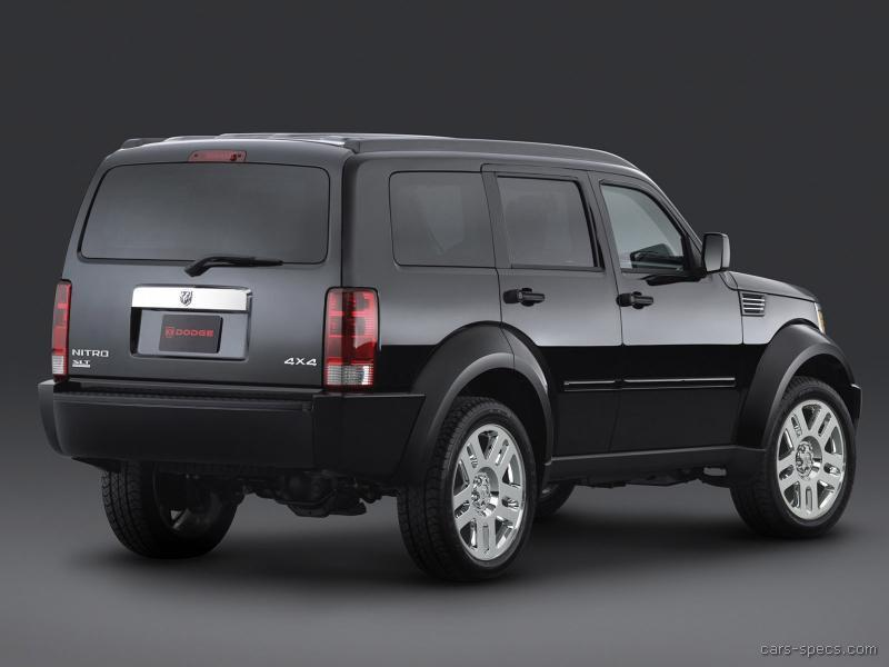 2007 dodge nitro suv specifications pictures prices. Black Bedroom Furniture Sets. Home Design Ideas