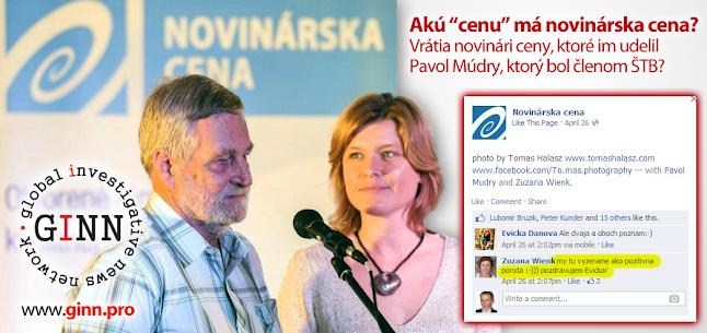 Spolupracovník ŠTB, Pavol Múdry, udelil aj mnoho novinárskych cien. Akú majú cenu? Vrátia ich novinári?