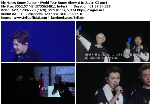 Download [Concert] Super Junior – Super Show 6 World Tour in