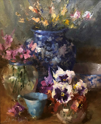 """Still Life in Blue"""