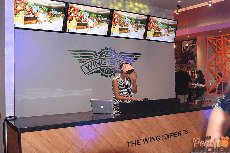 Wingin' It at Wingstop Glorietta 2