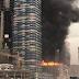 Kebakaran Gedung Pencakar Langit yang Sedang Dibangun di Dubai Mengguncang Dunia