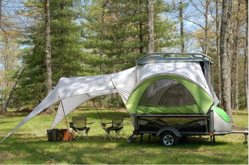 Little Mini Lightweight Compact Tent Camper Trailer
