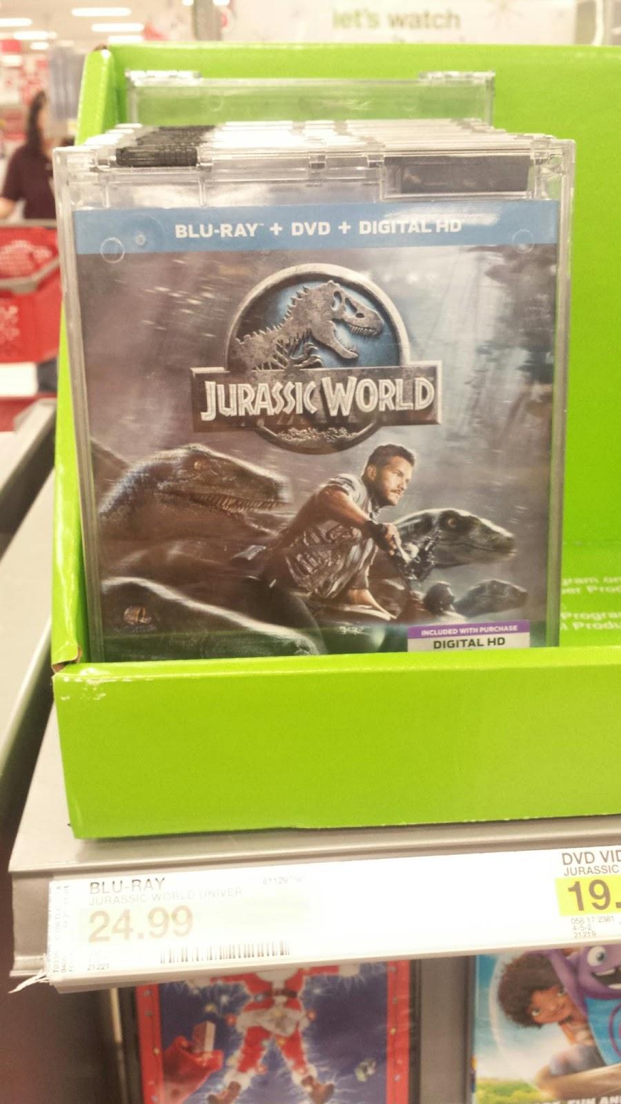 jurassic world dvd coupons