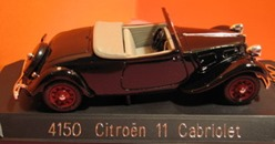 4150 Citroën Traction 11B Cabriolet 1938
