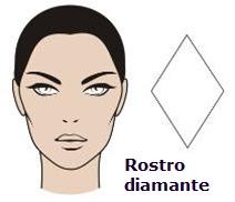 Tipo de rostro diamante