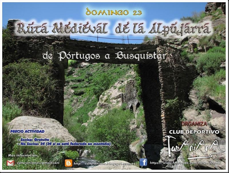 Cartel Ruta Medieval 2