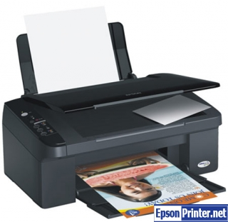 How to reset Epson TX109 printer