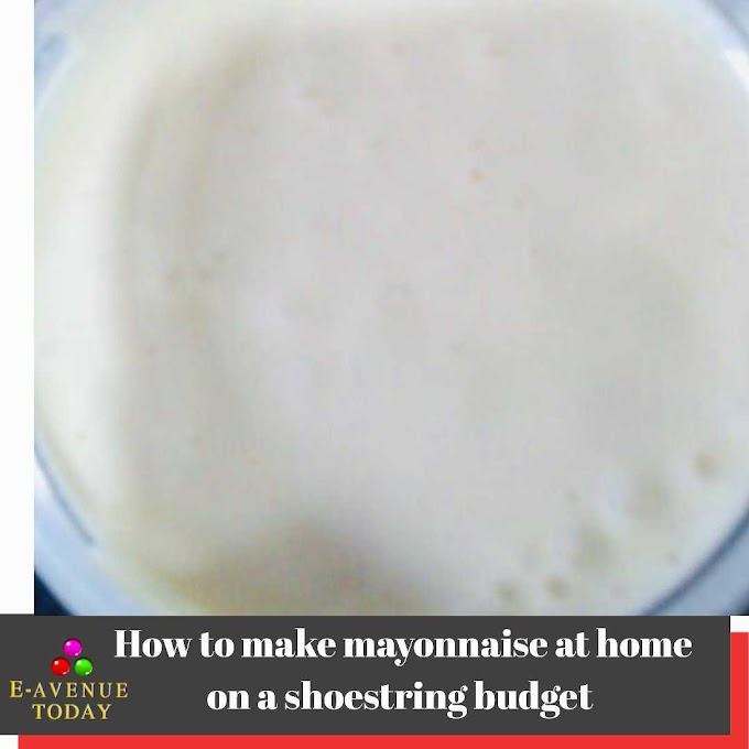 How to make mayonnaise at home on a shoestring budget