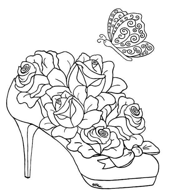 Hearts And Flowers Coloring Pages For Kids Printable Nice Hearts And Flowers  Coloring Pages Templates Colouring Pages Drawing Coloring Sheet From