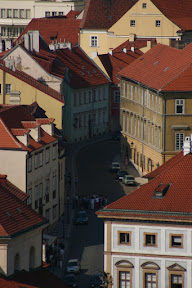 Winding streets in Hradcany