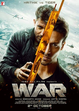 Watch Online War 2019 Full Movie Download HD Small Size 720P 700MB HEVC HDRip Via Resumable One Click Single Direct Links High Speed At WorldFree4u.Com