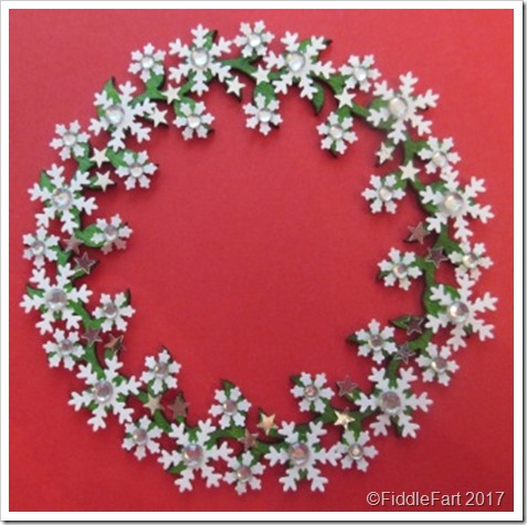 snowflake wreath Christmas Tree Decoration 6