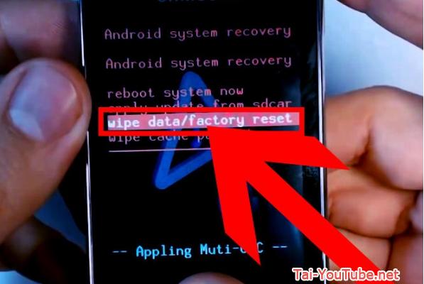 Hướng dẫn khôi phục cài đặt gốc cho hệ điều hành Android + Hình 5