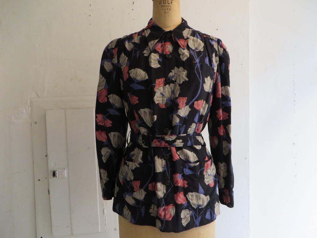 Prada Floral Jacket