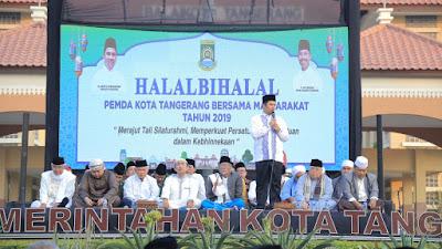 Pererat Silaturahmi Dengan Masyarakat, Pemkot Gelar Halal Bihalal
