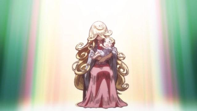 リコを抱くライザ